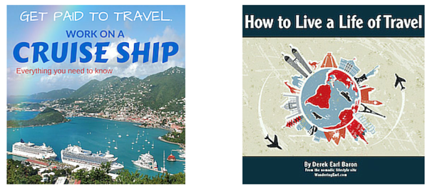 How to Work on a Cruise Ship and Travel eBooks